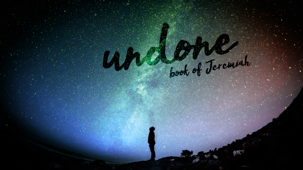 Undone - The Book of Jeremiah