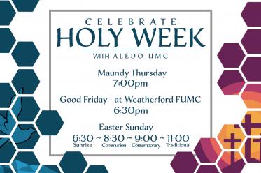 Easter With Aledo UMC